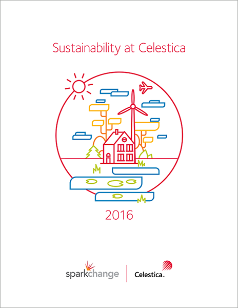 2016 Sustainability Report Cover